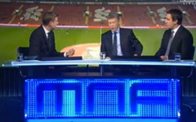(Video) Sky Sports pundit Gary Neville slams brother Phil's performance against Man United
