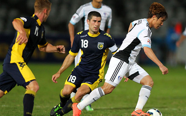 Central Coast Mariners draw in AFC Champions League after late penalty miss