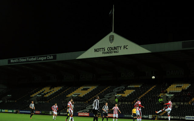 Notts County face winding-up petition