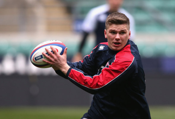 England's Owen Farrell '50-50′ for Italy RBS Six Nations clash