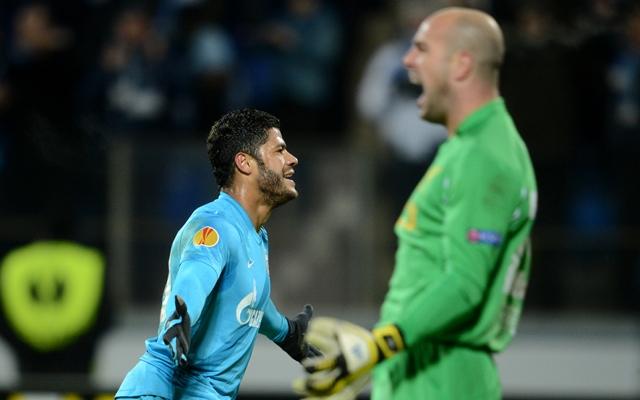 (GIF) Hulk's smash for Zenit St Petersburg against Liverpool