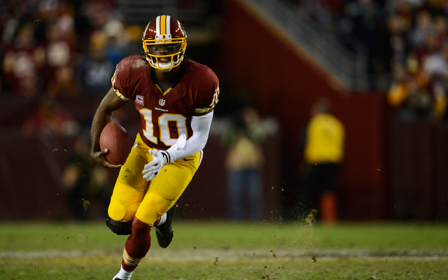 "Washington Redskins quarterback Robert Griffin III to learn from ""mistakes"""