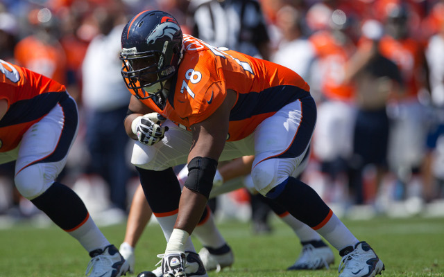 Denver Broncos put franchise tag on Ryan Clady