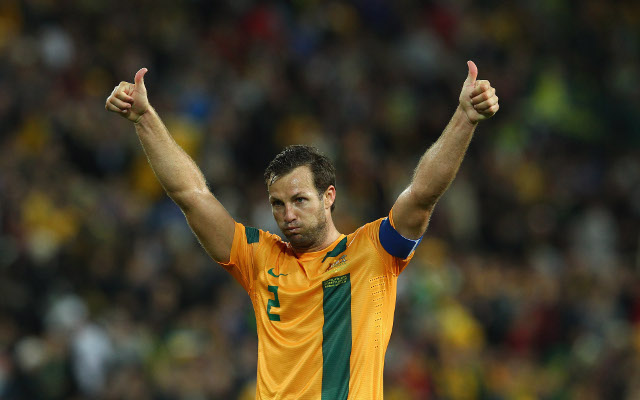 (Video) Lucas Neill reveals joy at captain ambassador appointment for 2015 Asian Cup
