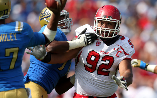 (Video) NFL Draft 2013: Profiling Utah defensive tackle Star Lotulelei