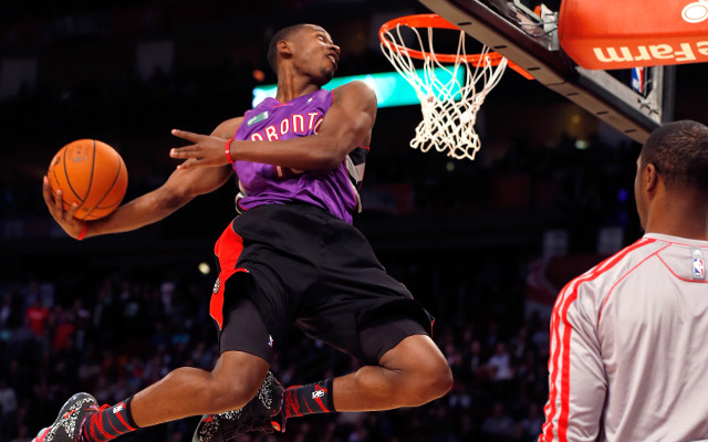(Video) Terrence Ross win NBA slam dunk contest in style