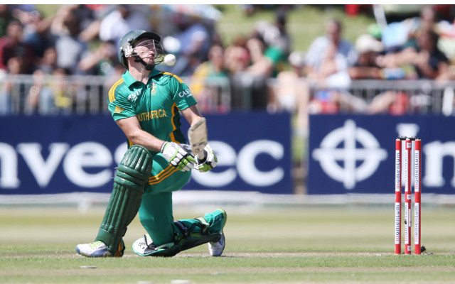 (Video) South African cricketer AB de Villiers hilariously run out against Zimbabwe