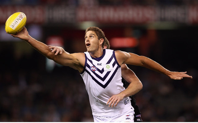 Freemantle Dockers star Aaron Sandilands in doubt for first round of season