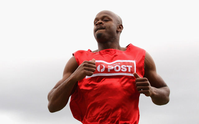 Asafa Powell set to withdraw from Stawell Gift due to hamstring strain