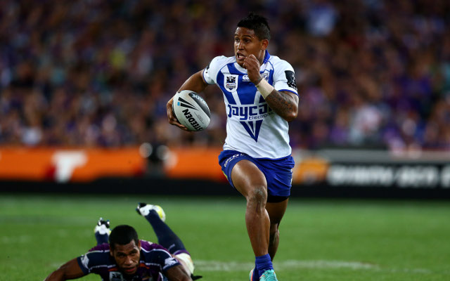 Ben Barba says he would walk away from the NRL for family