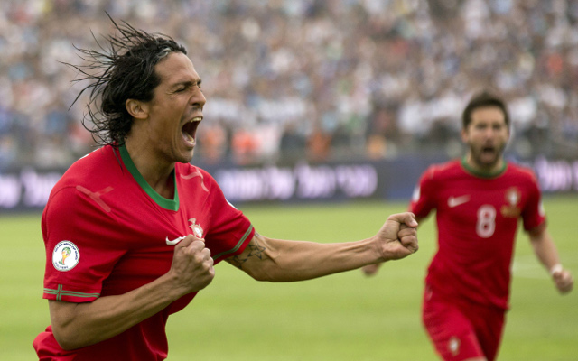 (Video) Portugal beat 10-man Azerbaijan without the suspended Cristiano Ronaldo