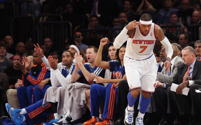 (Video) New York Knicks can dare to dream with Carmelo Anthony