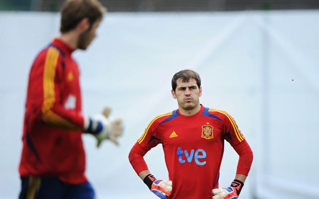 Iker Casillas David De Gea Spain