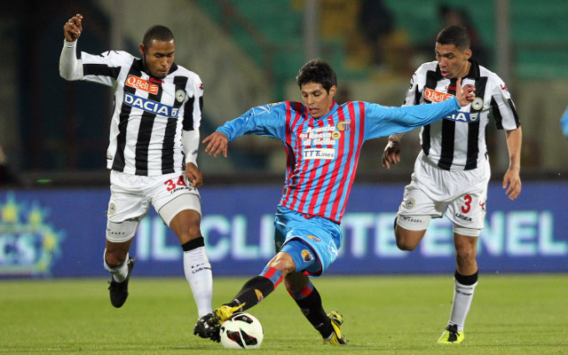 (Video) Catania 3-1 Udinese: Serie A highlights