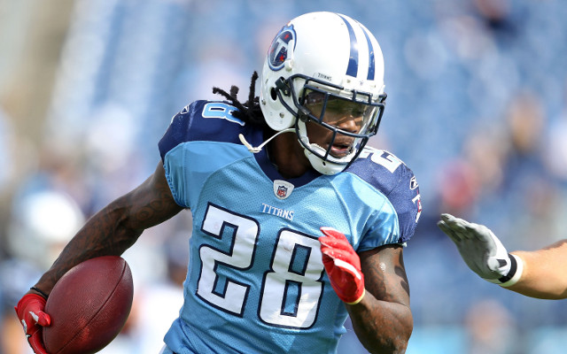 Chris Johnson happy Titans will favour run-first offence in 2013