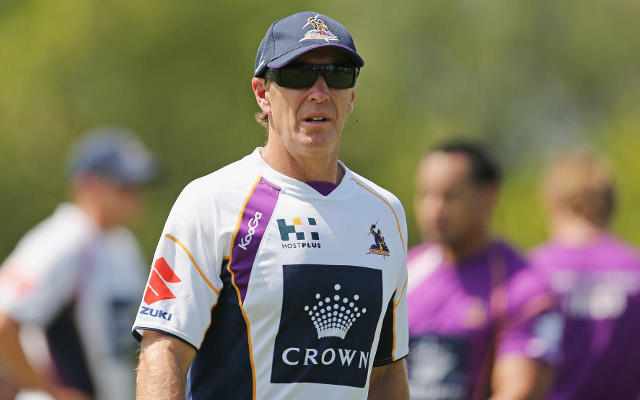 Melbourne Storm boss Craig Bellamy hoses down speculation of Kangaroos takeover