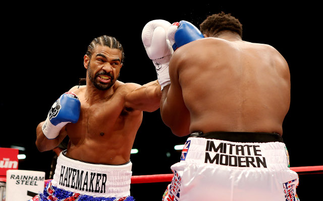 Boxing news: David Haye moves closer to comeback after announcing new trainer (video)
