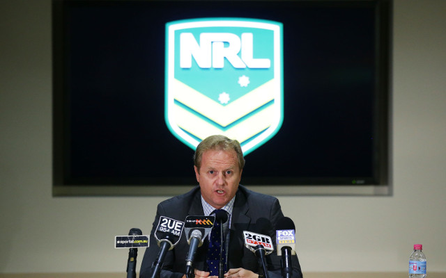 NRL boss Dave Smith cops abusive text messages from former Knights owner