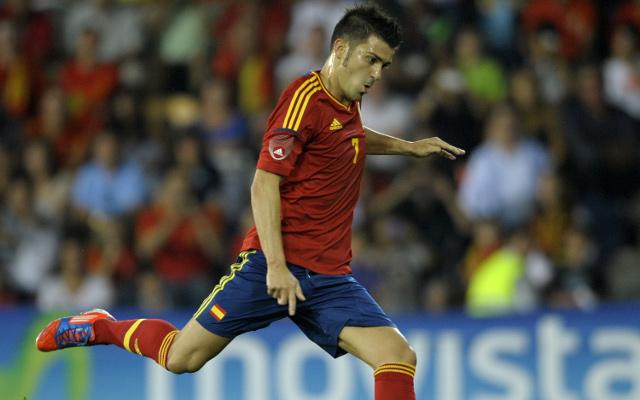 David Villa calls for Spain reaction against France