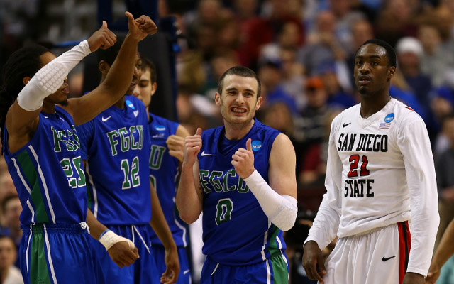 (GIF) Florida Gulf Coast reach March Madness Sweet 16 for first time