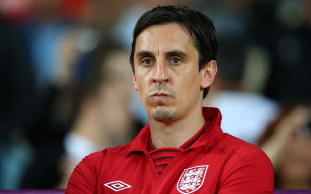 Gary Neville claims England strikers amongst world's best