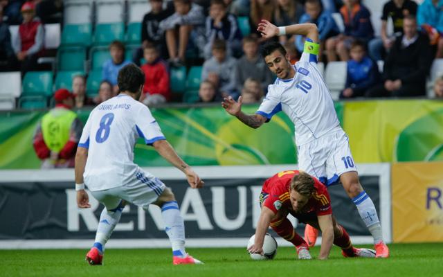 Greek player Giorgos Katidis in Nazi salute row