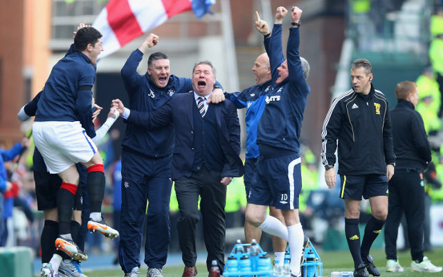 Rangers win Scottish Third Division but may not go up
