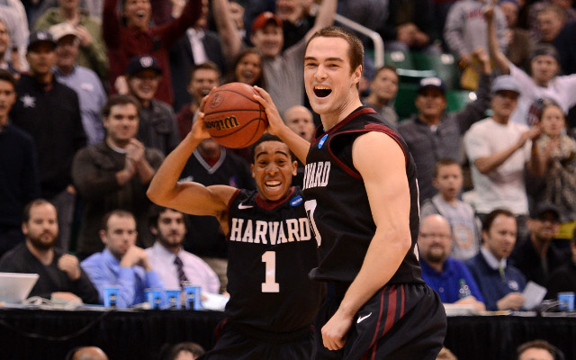 March Madness: Harvard Crimson steal headlines on first day