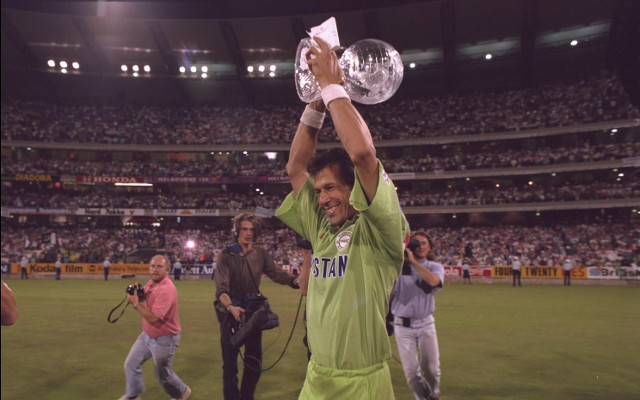 On this day in 1992: Pakistan win their first and only World Cup