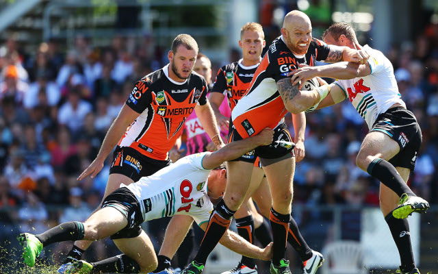 Wests Tigers forward Keith Galloway injured for up to four months