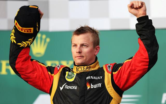 Kimi Raikkonen to stay at Lotus next season