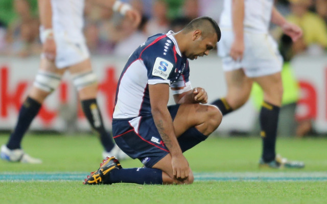 Melbourne Rebels will be without Kurtley Beale for up to a month