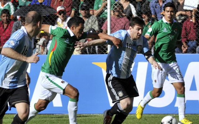 Bolivia 1-1 Argentina: World Cup qualifying match report