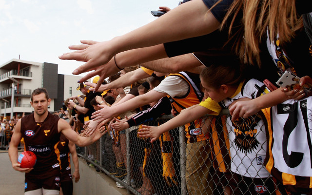 Hawthorn captain Luke Hodge looking to keep the band together