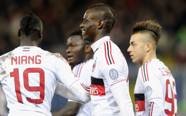 Super Mario Balotelli scores again as 10-man AC Milan beat Genoa