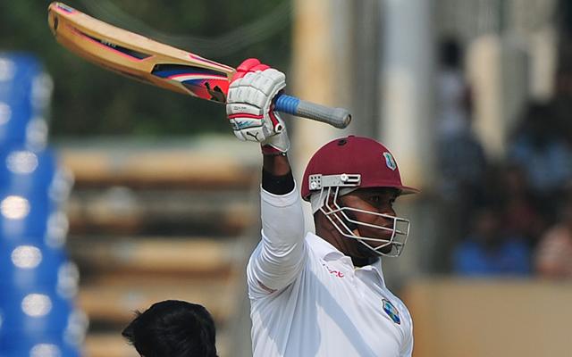 West Indies v England: Marlon Samuels' impressive knock frustrates Alastair Cook's side in second Test