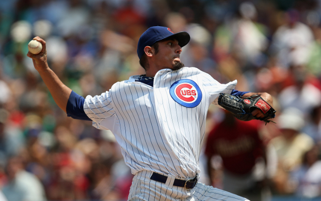 Chicago Cubs suffer blow with news Matt Garza ruled out for a month