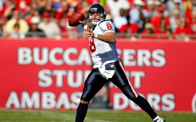 Matt Schaub says pocket passers will not go extinct in the NFL