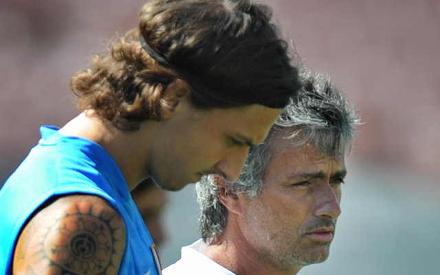 Mourinho Ibrahimovic Inter Milan