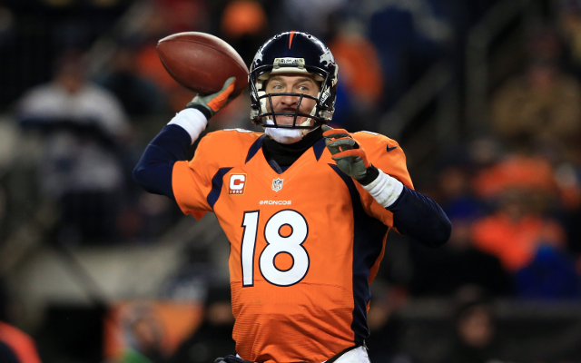 Peyton Manning calls for uncomfortable atmosphere on Denver Broncos team