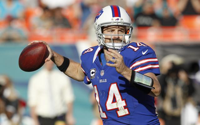 Quarterback Ryan Fitzpatrick released by Buffalo Bills
