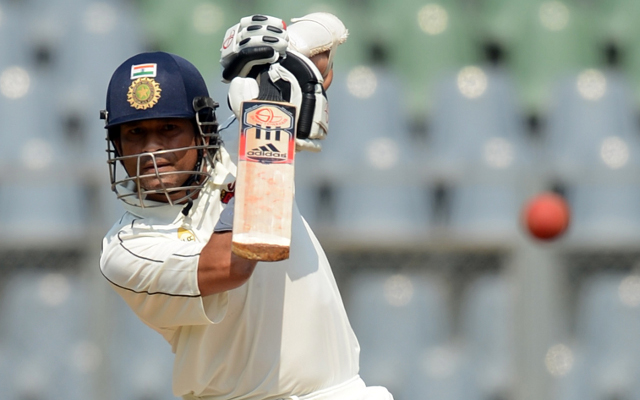 Sachin Tendulkar finishes 38 not out at end of day one