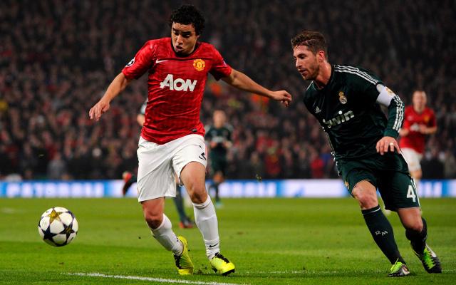 Sergio Ramos Real Madrid + Rafael Manchester United