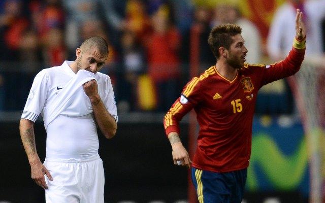 (Video) Real Madrid star defends club-mate Karim Benzema after France slump