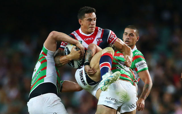 Sonny Bill Williams Sydney Roosters South Sydney Rabbitohs NRL