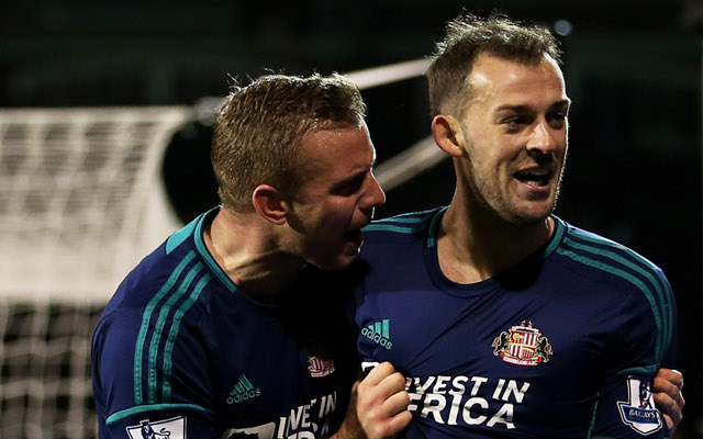Sunderland duo Steven Fletcher and Lee Cattermole ruled out for the season