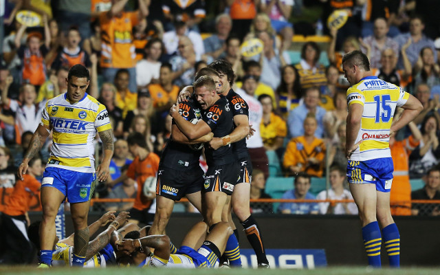 Wests Tigers make Parramatta Eels pay for sloppy performance
