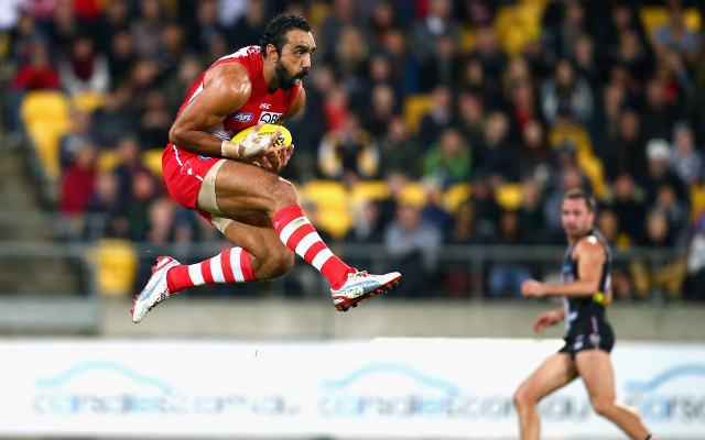 Sydney Swans drop club legend Adam Goodes from GWS Giants clash