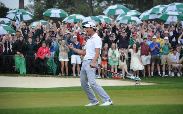 Australia celebrates with Adam Scott's Masters triumph