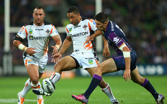 Wests Tigers' Benji Marshall could be out injured for up to three months